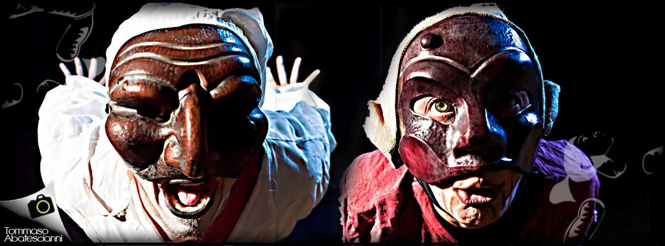 commedia dell'arte pulcinella, arlecchino e tante altre maschere per uno spettacolo dedicato alle giovani generazioni