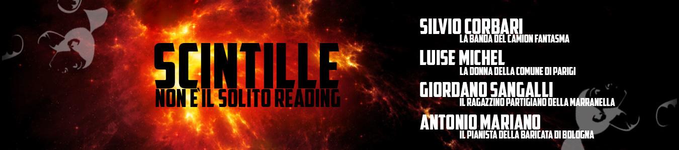 Scintille - questo non è il solito reading
